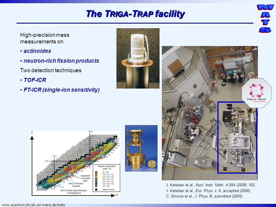 The Triga-Trap facility