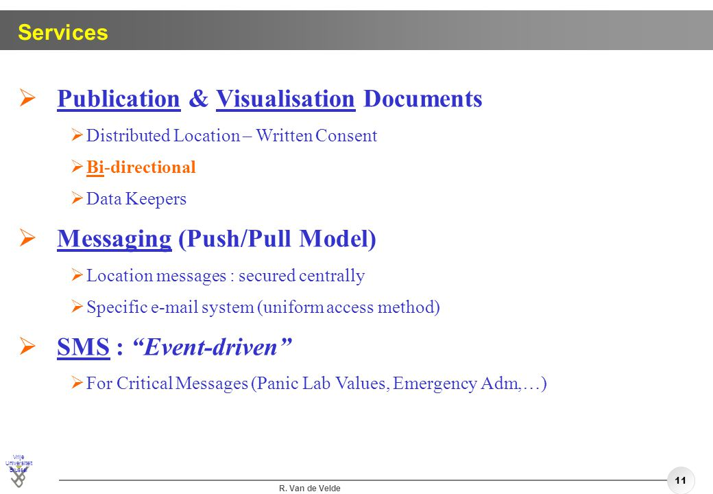 Publication & Visualisation Documents