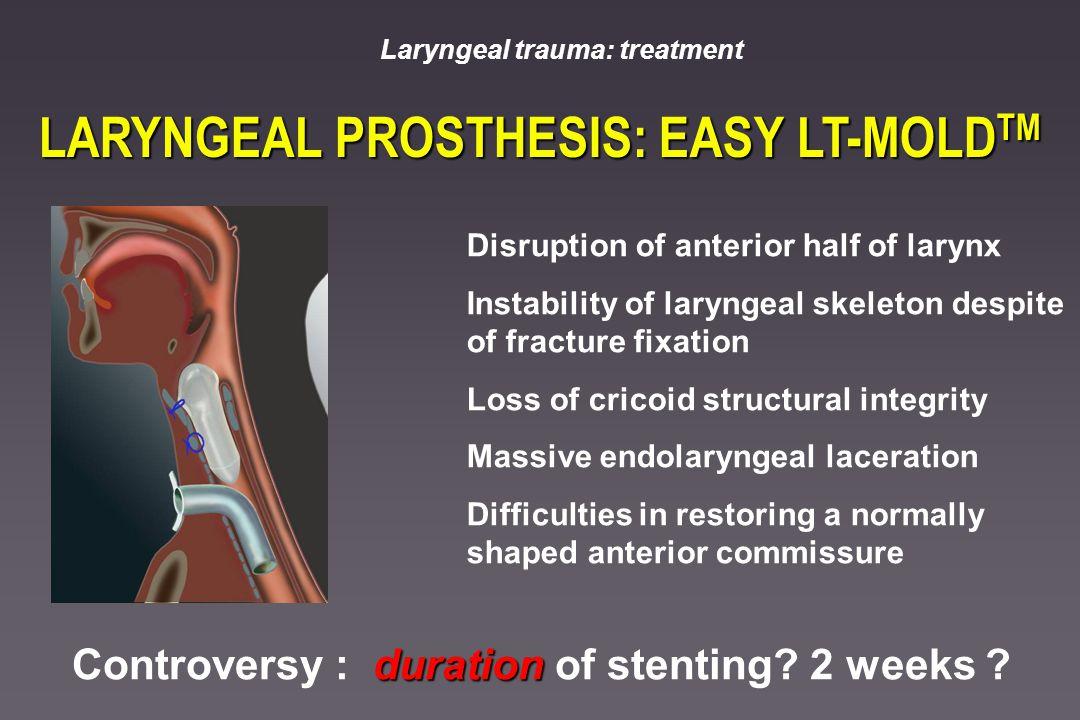 LARYNGEAL PROSTHESIS: EASY LT-MOLDTM