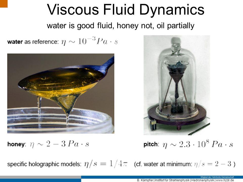 Viscous Fluid Dynamics
