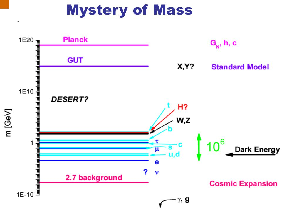 Mystery of Mass