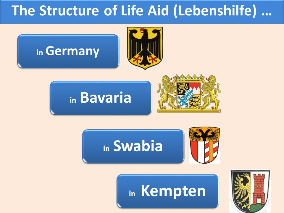 The Structure of Life Aid (Lebenshilfe) …