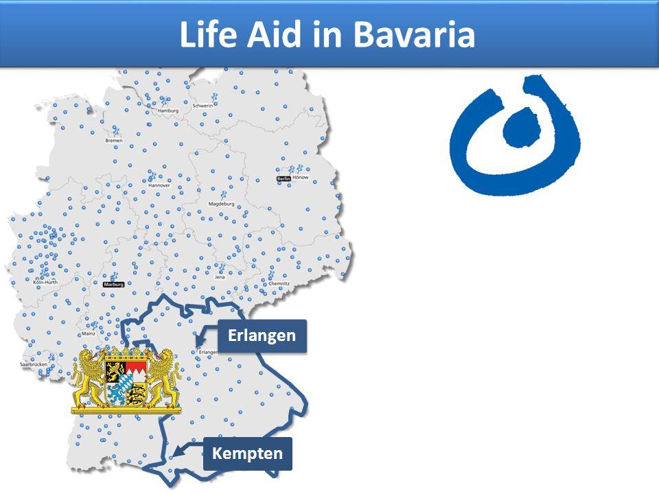Life Aid in Bavaria Erlangen Kempten