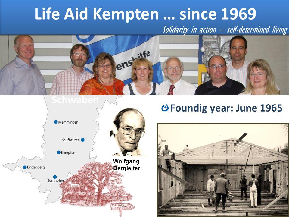 Life Aid Kempten … since 1969