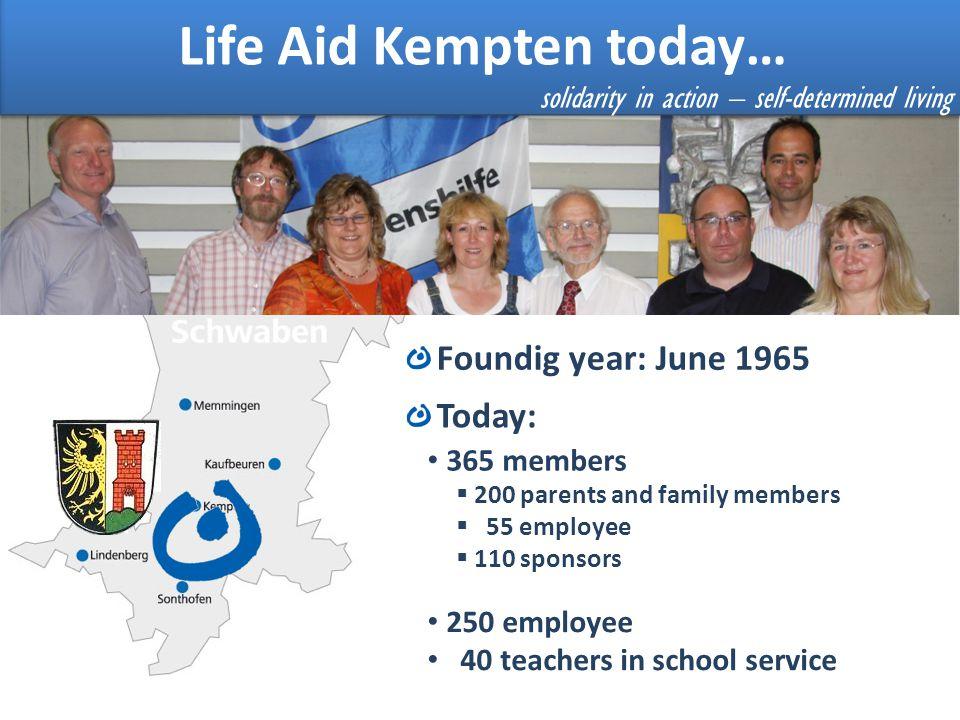 Life Aid Kempten today…