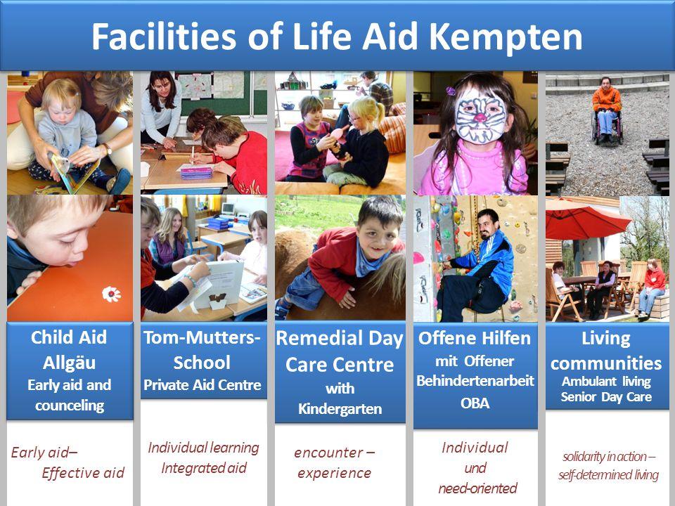 Facilities of Life Aid Kempten