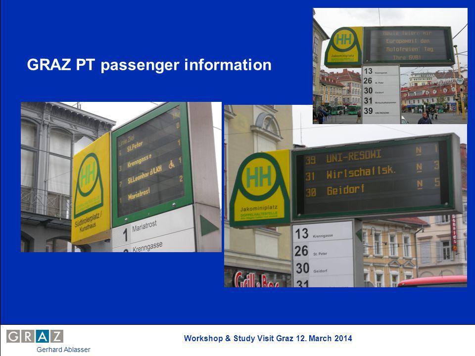 GRAZ PT passenger information