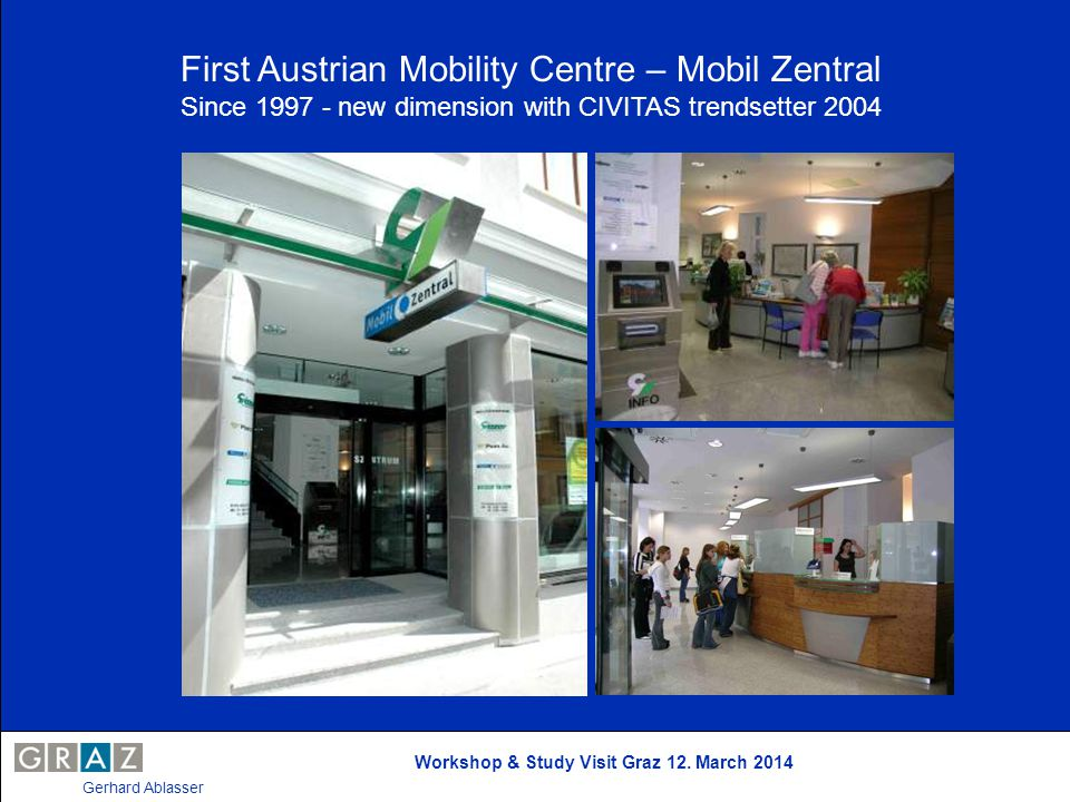 First Austrian Mobility Centre – Mobil Zentral
