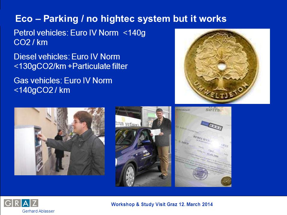 Eco – Parking / no hightec system but it works