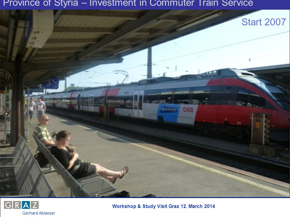 Province of Styria – Investment in Commuter Train Service