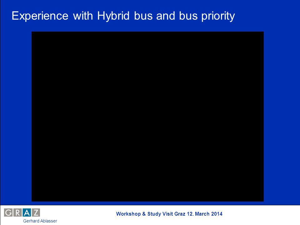 Experience with Hybrid bus and bus priority