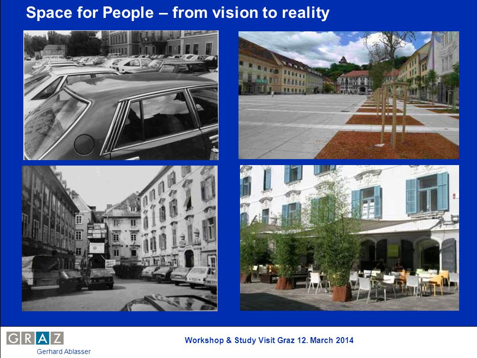 Space for People – from vision to reality