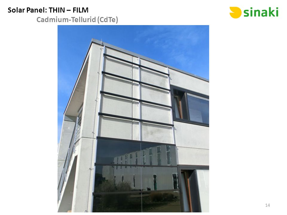 Solar Panel: THIN – FILM