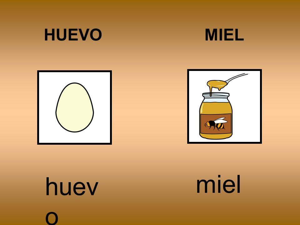 HUEVO MIEL miel huevo