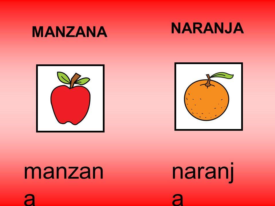 NARANJA MANZANA manzana naranja