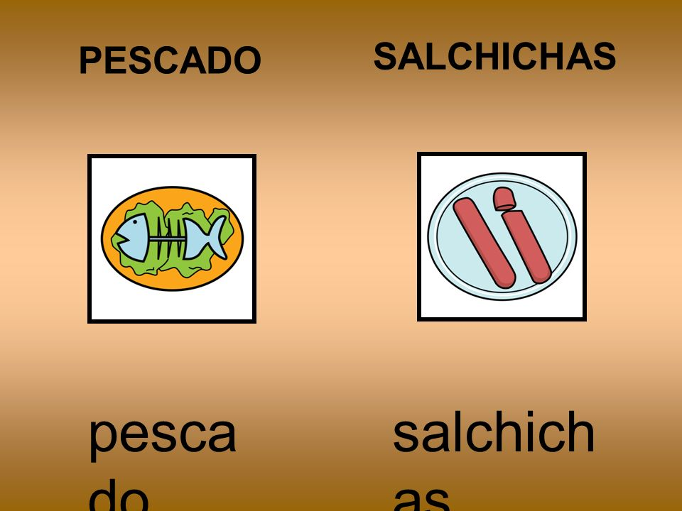 PESCADO SALCHICHAS pescado salchichas