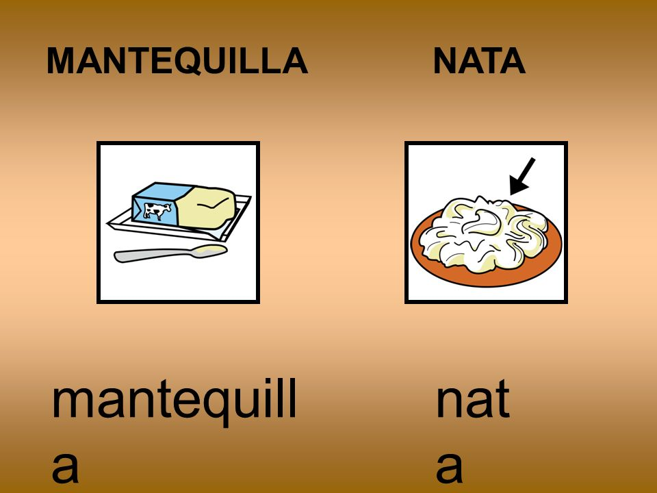 MANTEQUILLA NATA mantequilla nata