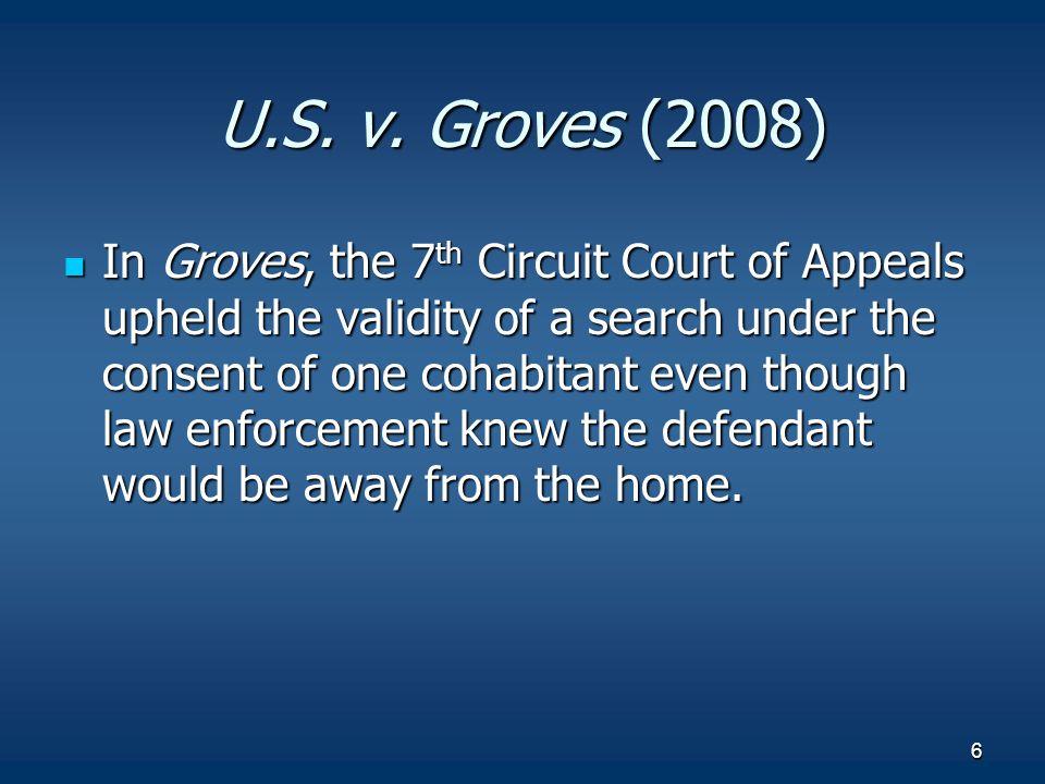 U.S. v. Groves (2008)