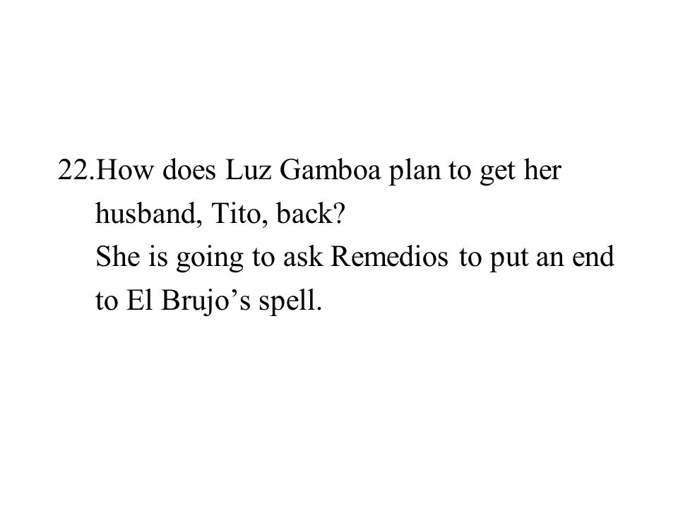 How does Luz Gamboa plan to get her