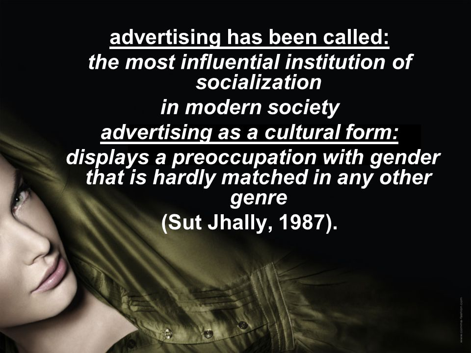 advertising influential to the society Second year english literature and french language student imogen allan explores how advertising drives us as individuals and our society.