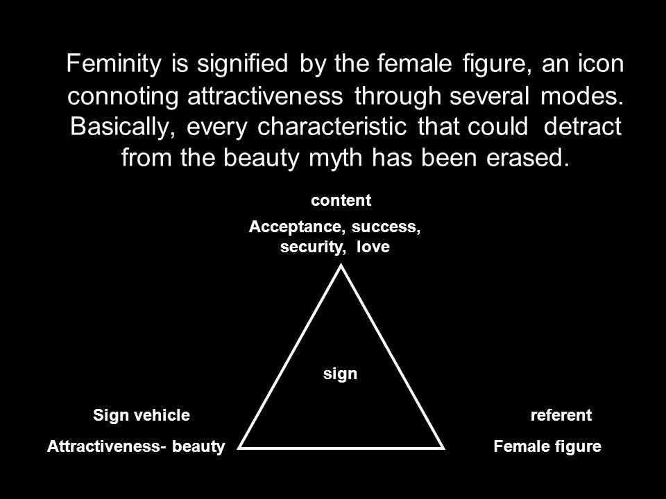 Acceptance, success, security, love Attractiveness- beauty