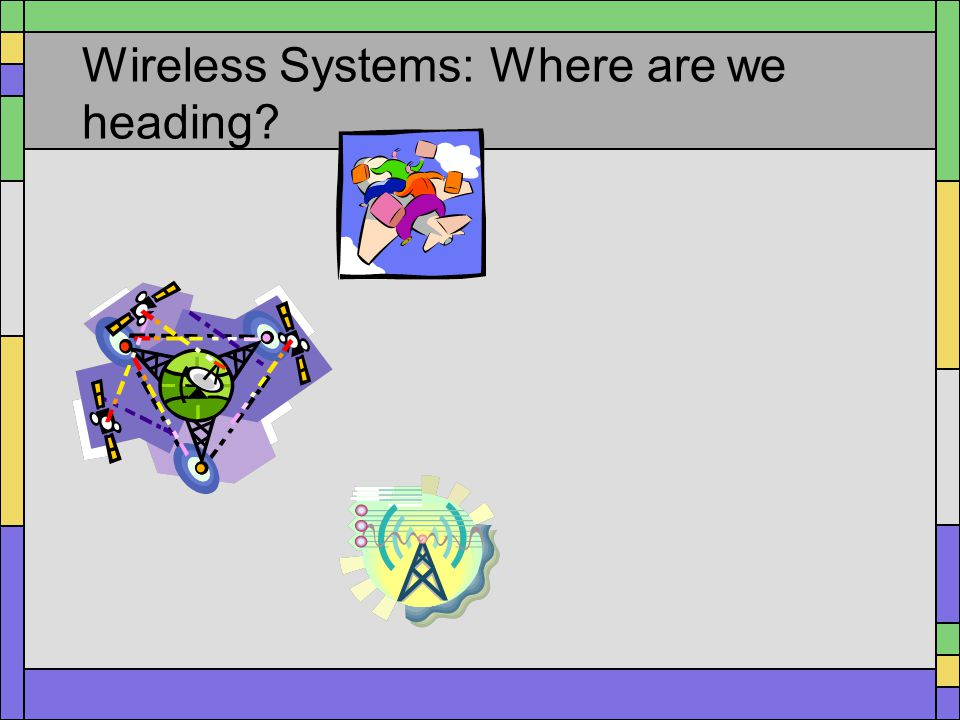 Wireless Systems: Where are we heading