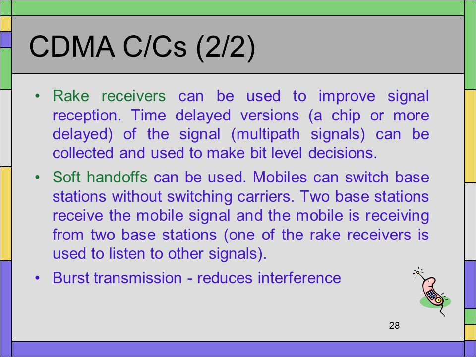 CDMA C/Cs (2/2)