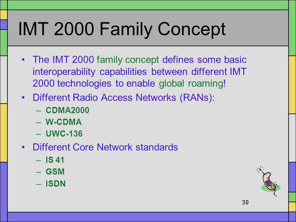 IMT 2000 Family Concept
