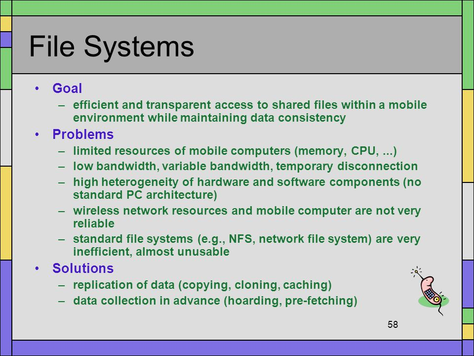 File Systems Goal Problems Solutions