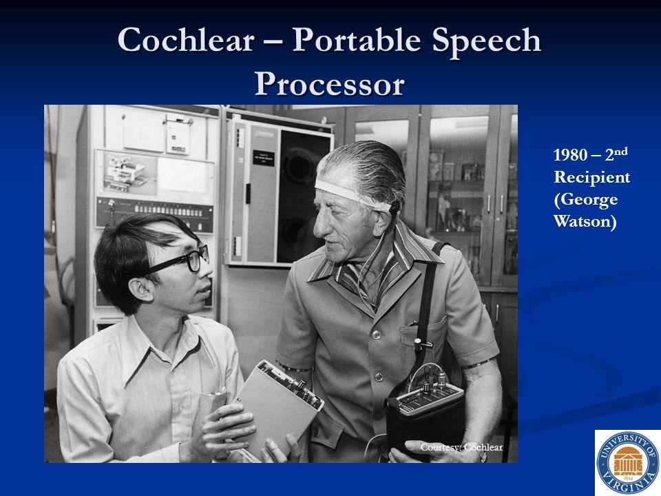 Cochlear – Portable Speech Processor