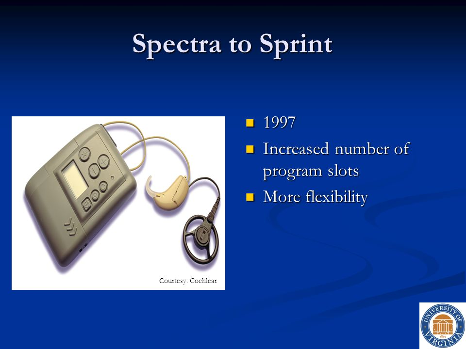 Spectra to Sprint 1997 Increased number of program slots