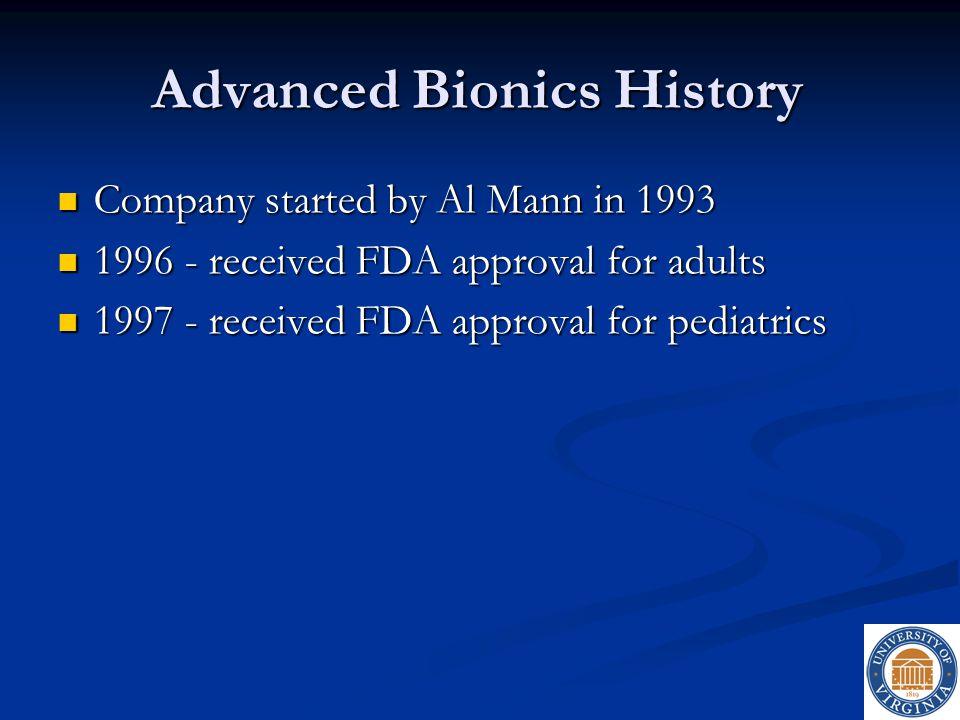 Advanced Bionics History