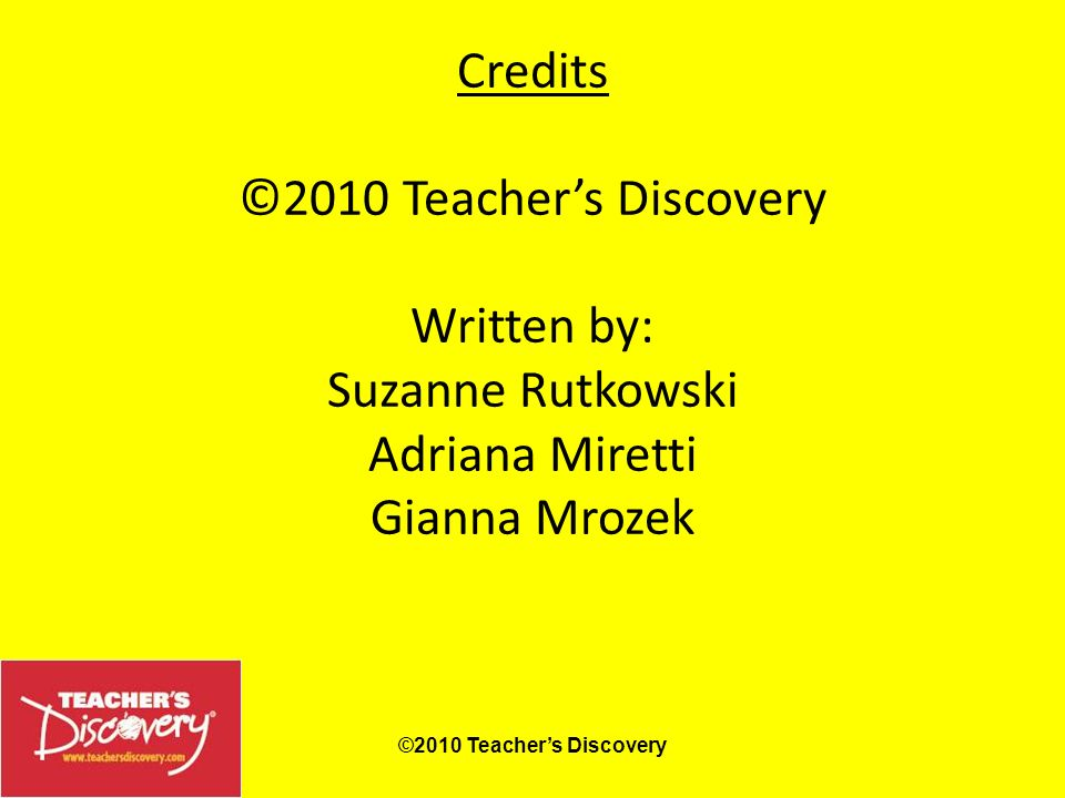 www.teachersdiscovery.com Search: Grammar PowerPoints™