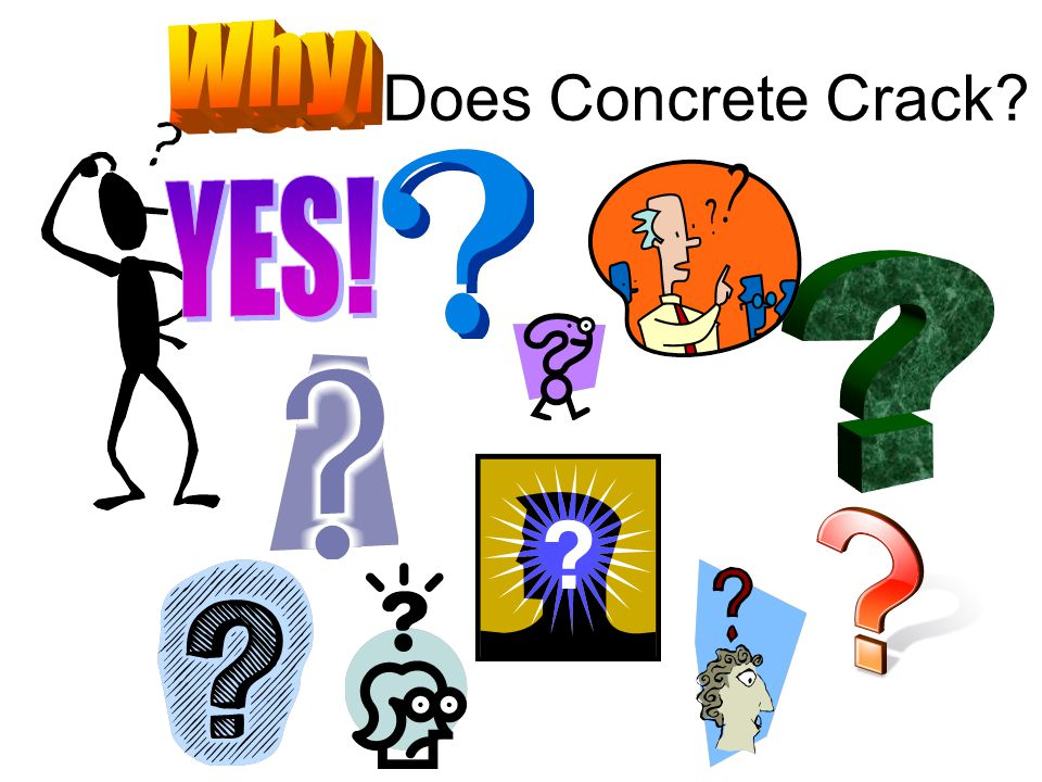 Why How Where When Does Concrete Crack YES!