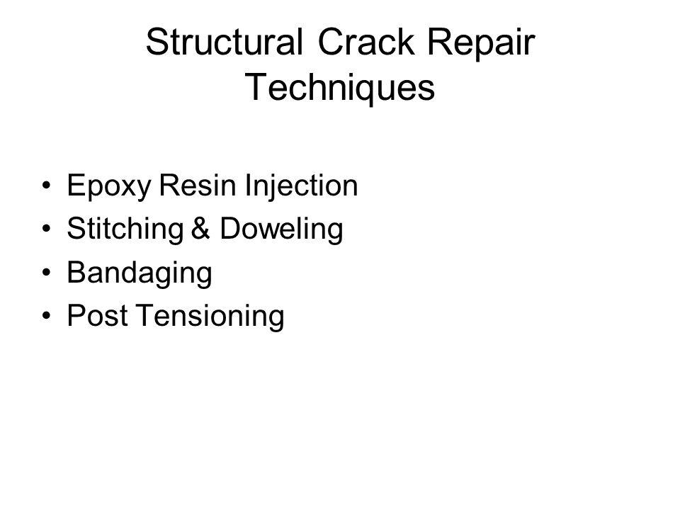 Structural Crack Repair Techniques