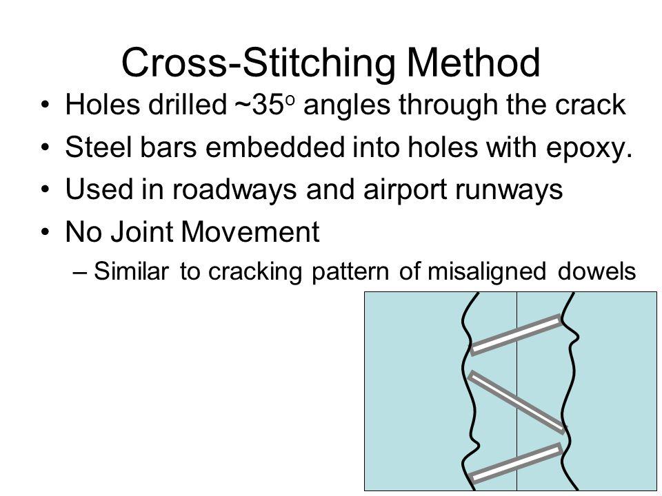 Cross-Stitching Method