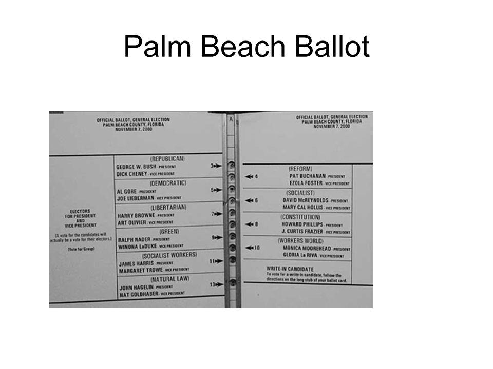 Palm Beach Ballot
