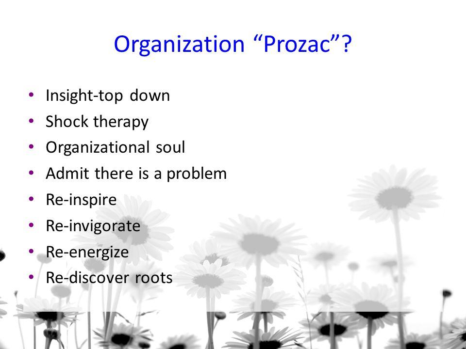 Organization Prozac