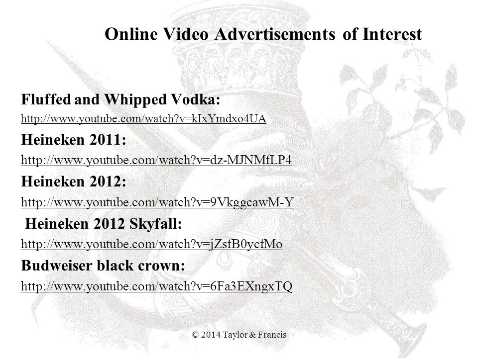 Online Video Advertisements of Interest