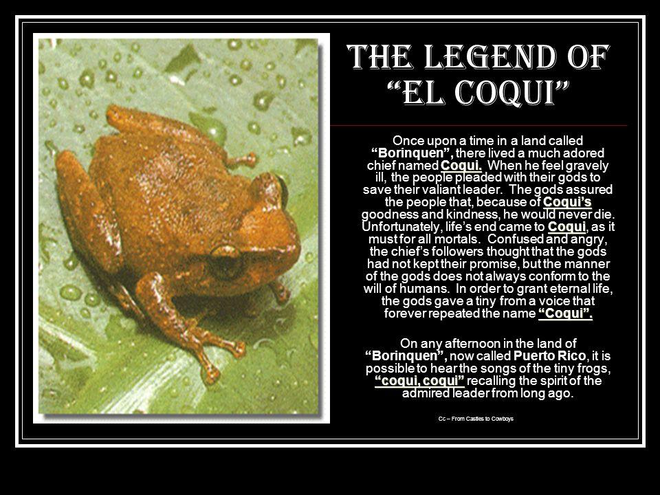 The Legend of El Coqui