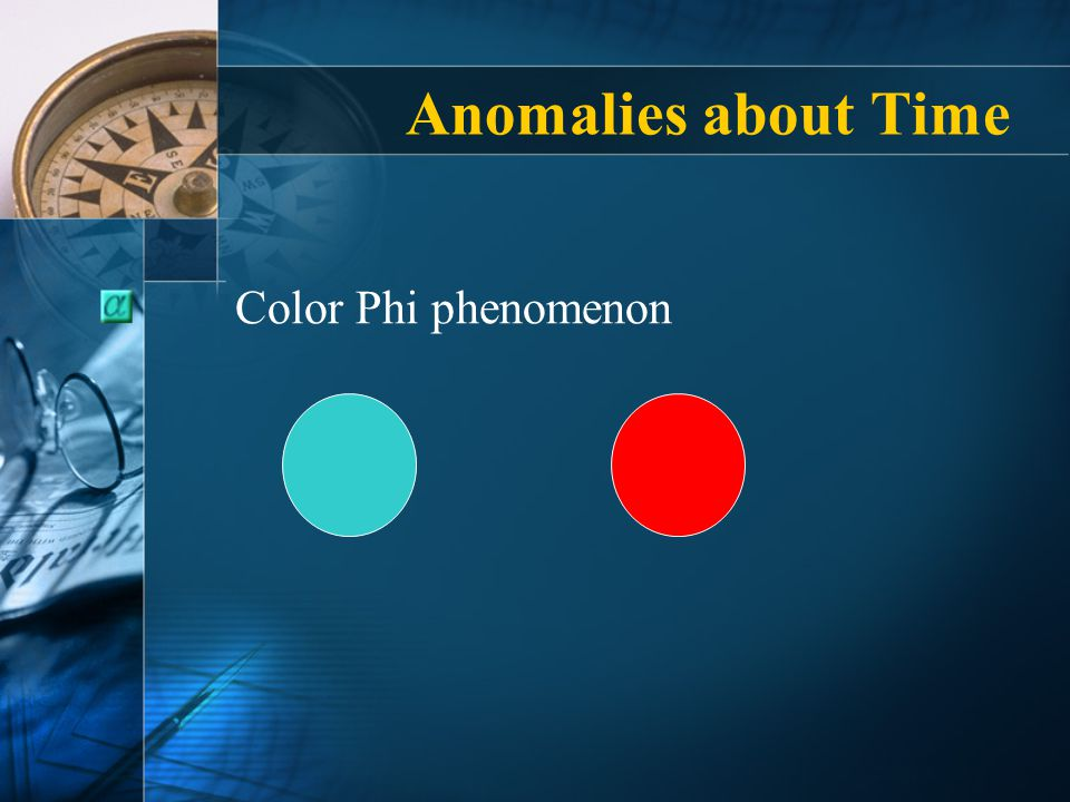 Anomalies about Time Color Phi phenomenon