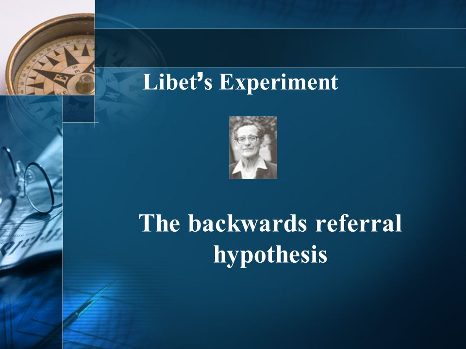 The backwards referral hypothesis