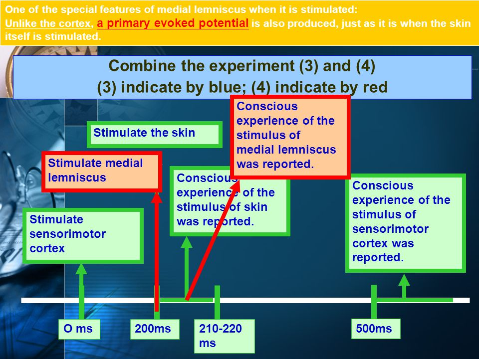 Combine the experiment (3) and (4)