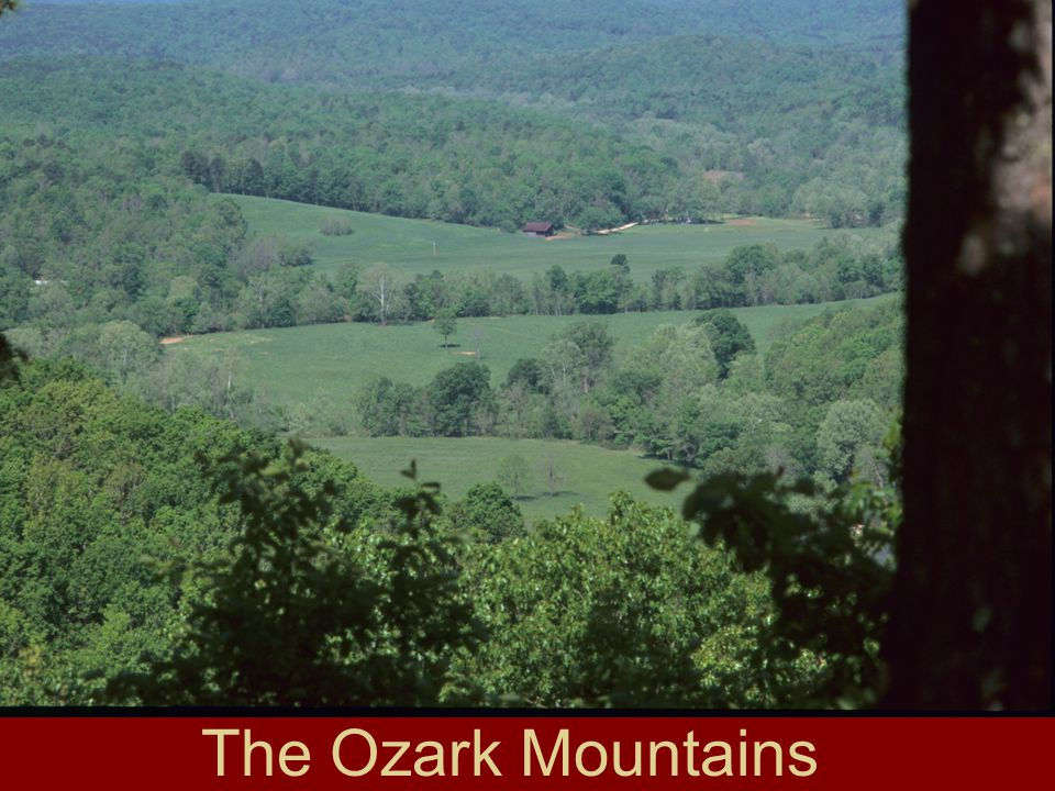 The Ozark Mountains