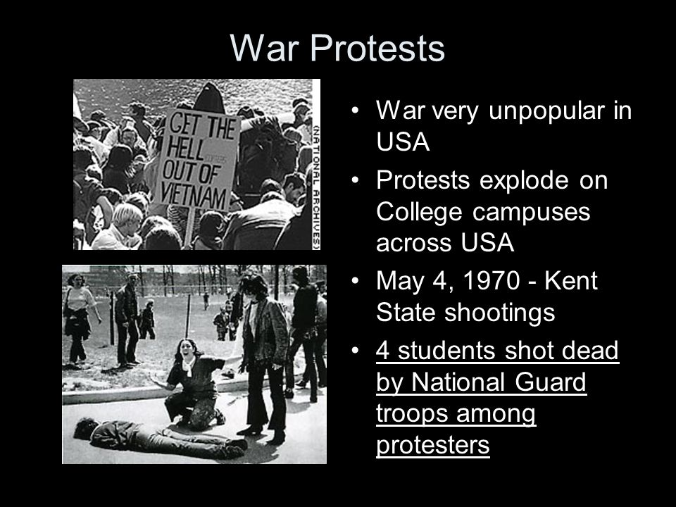 War Protests War very unpopular in USA