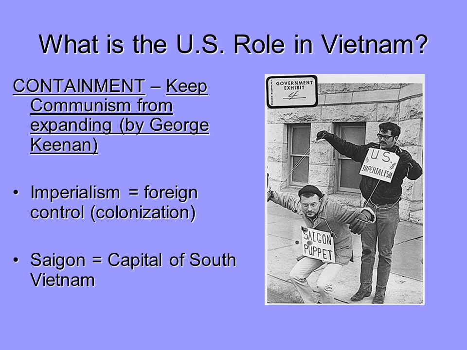 What is the U.S. Role in Vietnam