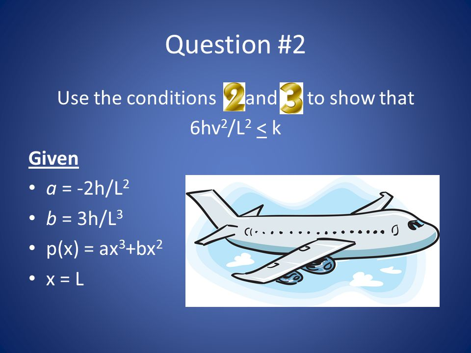 Use the conditions 2 and 3 to show that