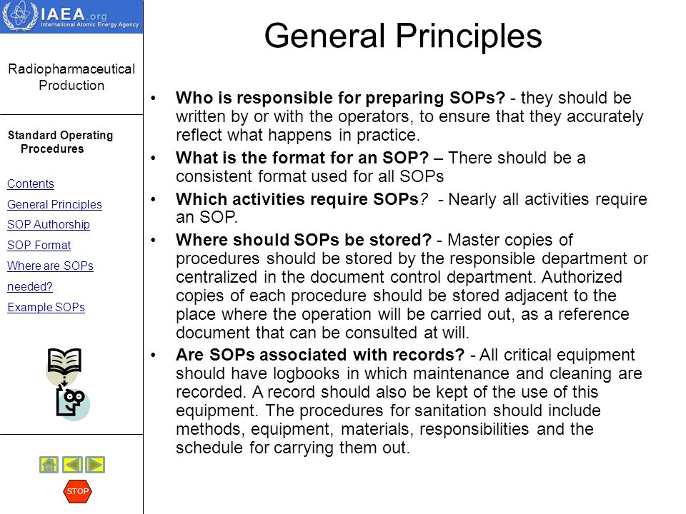 Superb Why Sop Is Used Format Of Sop Procedure Regulatory Issues In