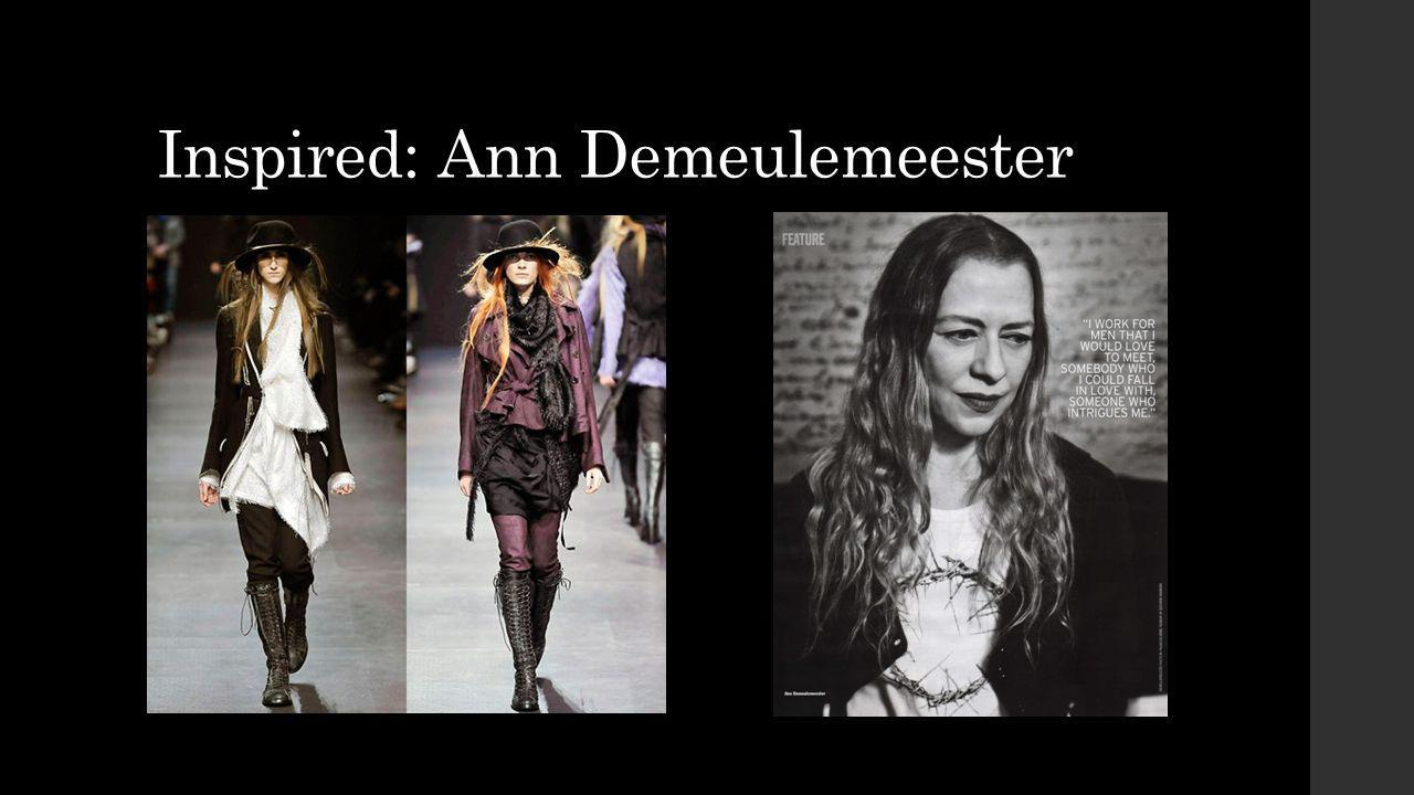 Inspired: Ann Demeulemeester