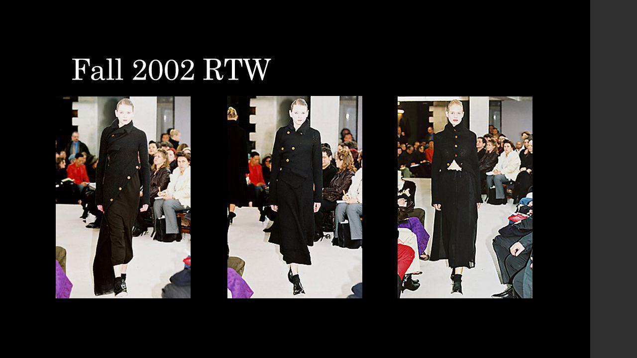 Fall 2002 RTW